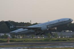 まっくうさんが、成田国際空港で撮影したパキスタン国際航空 777-2Q8/ERの航空フォト(飛行機 写真・画像)