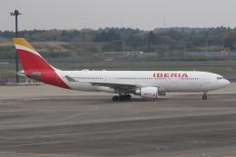 まっくうさんが、成田国際空港で撮影したイベリア航空 A330-202の航空フォト(飛行機 写真・画像)