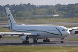 まっくうさんが、成田国際空港で撮影したエアXチャーター A340-312の航空フォト(飛行機 写真・画像)