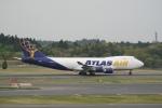 pringlesさんが、成田国際空港で撮影したアトラス航空 747-47UF/SCDの航空フォト(写真)