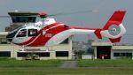 C.Hiranoさんが、八尾空港で撮影した北國新聞社 EC135T2の航空フォト(写真)