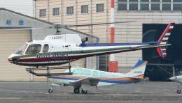 航空フォト:JA358Y オートパンサー AS350 Ecureuil/AStar