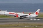 yabyanさんが、中部国際空港で撮影したマリンド・エア 737-8GPの航空フォト(飛行機 写真・画像)