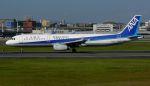 Chikaの航空見聞録さんが、伊丹空港で撮影した全日空 A321-131の航空フォト(写真)