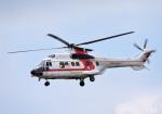 mojioさんが、成田国際空港で撮影した朝日航洋 AS332L1 Super Pumaの航空フォト(飛行機 写真・画像)
