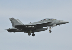 チャーリーマイクさんが、厚木飛行場で撮影したアメリカ海軍 F/A-18F Super Hornetの航空フォト(写真)