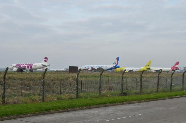 IL-18さんが、シャノン空港で撮影したAWAS A320-232の航空フォト(飛行機 写真・画像)