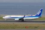 yabyanさんが、中部国際空港で撮影した全日空 737-881の航空フォト(飛行機 写真・画像)