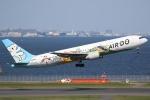 やまけんさんが、羽田空港で撮影したAIR DO 767-381の航空フォト(飛行機 写真・画像)