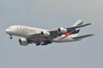 LEGACY-747さんが、スワンナプーム国際空港で撮影したエミレーツ航空 A380-861の航空フォト(飛行機 写真・画像)