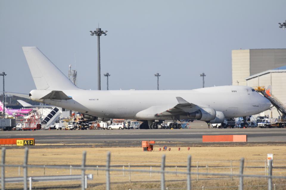 LEGACY-747さんのアトラス航空 Boeing 747-400 (N407KZ) 航空フォト