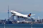 T.Sazenさんが、羽田空港で撮影したルフトハンザドイツ航空 A340-642Xの航空フォト(写真)