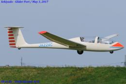 Chofu Spotter Ariaさんが、関宿滑空場で撮影したアサヒソアリングクラブ G103A Twin II Acroの航空フォト(写真)
