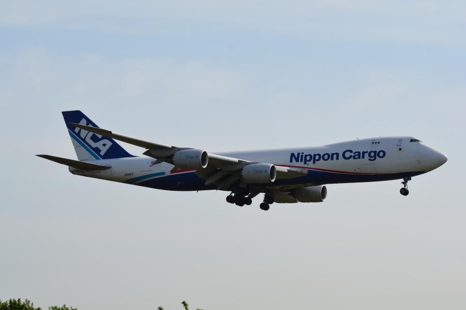 LEGACY-747さんの日本貨物航空 Boeing 747-8 (JA14KZ) 航空フォト