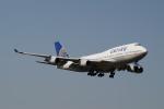 taka2217さんが、成田国際空港で撮影したユナイテッド航空 747-422の航空フォト(写真)