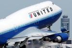 Antonioさんが、台湾桃園国際空港で撮影したユナイテッド航空 747-422の航空フォト(写真)