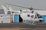 Chofu Spotter Ariaさんが、東京ヘリポートで撮影したディーエイチシー BK117B-2の航空フォト(飛行機 写真・画像)