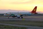 北の熊さんが、新千歳空港で撮影した天津航空 A320-214の航空フォト(飛行機 写真・画像)