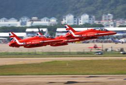りんたろうさんが、珠海金湾空港で撮影したイギリス空軍 BAe Hawk T1の航空フォト(飛行機 写真・画像)
