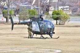 canaanさんが、新町駐屯地で撮影した陸上自衛隊 OH-6Dの航空フォト(飛行機 写真・画像)