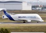 voyagerさんが、トゥールーズ・ブラニャック空港で撮影したエアバス・トランスポート・インターナショナル A300B4-608STの航空フォト(飛行機 写真・画像)
