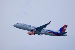 kikiさんが、香港国際空港で撮影したネパール航空 A320-233の航空フォト(飛行機 写真・画像)