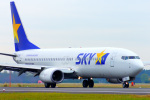 485k60さんが、茨城空港で撮影したスカイマーク 737-81Dの航空フォト(写真)