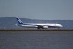 職業旅人さんが、サンフランシスコ国際空港で撮影した全日空 777-381/ERの航空フォト(写真)