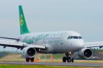 485k60さんが、茨城空港で撮影した春秋航空 A320-214の航空フォト(写真)