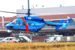 485k60さんが、茨城空港で撮影した茨城県警察 BK117C-1の航空フォト(飛行機 写真・画像)