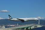 kix大好きカズチャマンさんが、関西国際空港で撮影したキャセイパシフィック航空 777-367の航空フォト(写真)