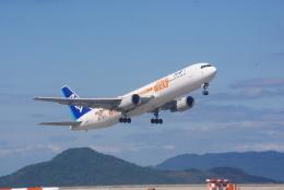 Airfly-Superexpressさんが、岩国空港で撮影した全日空 767-381/ERの航空フォト(写真)
