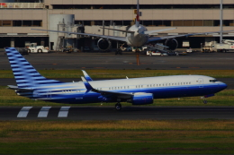 KoshiTomo✈さんが、羽田空港で撮影したEIEイーグル 737-8EQ BBJ2の航空フォト(飛行機 写真・画像)