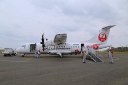 ケロさんが、沖永良部空港で撮影した日本エアコミューター ATR 42-600の航空フォト(飛行機 写真・画像)