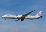 じーく。さんが、成田国際空港で撮影した日本航空 787-9の航空フォト(飛行機 写真・画像)