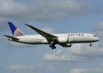 じーく。さんが、成田国際空港で撮影したユナイテッド航空 787-8 Dreamlinerの航空フォト(飛行機 写真・画像)