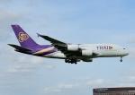 じーく。さんが、成田国際空港で撮影したタイ国際航空 A380-841の航空フォト(飛行機 写真・画像)