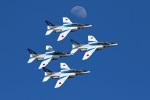 スカルショットさんが、岩国空港で撮影した航空自衛隊 T-4の航空フォト(写真)