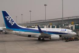 delawakaさんが、大連周水子国際空港で撮影した全日空 737-781の航空フォト(飛行機 写真・画像)