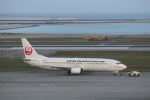 ATOMさんが、那覇空港で撮影した日本トランスオーシャン航空 737-446の航空フォト(飛行機 写真・画像)
