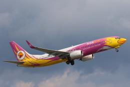安芸あすかさんが、プーケット国際空港で撮影したノックエア 737-86Nの航空フォト(飛行機 写真・画像)