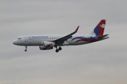 さんみさんが、香港国際空港で撮影したネパール航空 A320-233の航空フォト(飛行機 写真・画像)