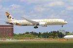 べガスさんが、成田国際空港で撮影したエティハド航空 787-9の航空フォト(写真)