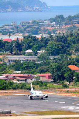 まいけるさんが、サムイ国際空港で撮影したバンコクエアウェイズ A319-131の航空フォト(写真)