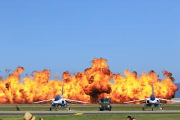 トラッキーさんが、岩国空港で撮影した航空自衛隊 T-4の航空フォト(写真)