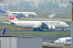 485k60さんが、羽田空港で撮影した日本航空 787-8 Dreamlinerの航空フォト(飛行機 写真・画像)
