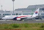 justice2002さんが、台湾桃園国際空港で撮影したマレーシア航空 737-8H6の航空フォト(飛行機 写真・画像)