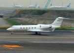 485k60さんが、羽田空港で撮影したアメリカ企業所有 G-IV Gulfstream IV-SPの航空フォト(写真)