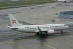 ガペ兄さんが、フランクフルト国際空港で撮影したプライベートエア 737-7CN BBJの航空フォト(飛行機 写真・画像)