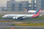 485k60さんが、羽田空港で撮影したアメリカン航空 787-8 Dreamlinerの航空フォト(飛行機 写真・画像)